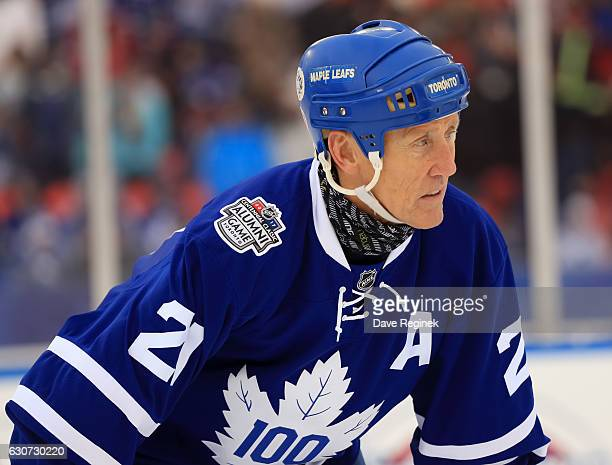 Toronto Maple Leafs alumni Borje Salming looks on during the 2017 Rogers NHL Centennial Classic Alumni Game at Exhibition Stadium on December 31 2016...