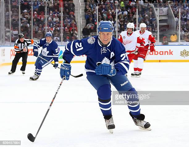 Toronto Maple Leafs alumni Borje Salming skates during the 2017 Rogers NHL Centennial Classic Alumni Game at Exhibition Stadium on December 31 2016...