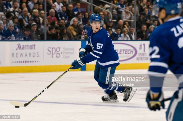 Toronto Maple Leafs Defenceman Jake Gardiner during the NHL regular season hockey game between the Washington Capitals and Toronto Maple Leafs on...
