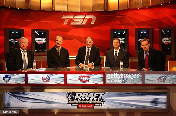Toronto Maple Leafs General Manager Brian Burke New York Islanders Director of Pro Scouting Ken Morrow Montreal Canadiens Assistant General Manager...