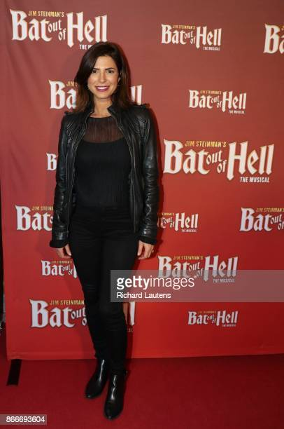 Toronto ON OCTOBER 25 Cindy Sampson actress from Private eyes Scenes from the red carpet at the Toronto premiere of BAT OUT OF HELL the Meat Loaf...
