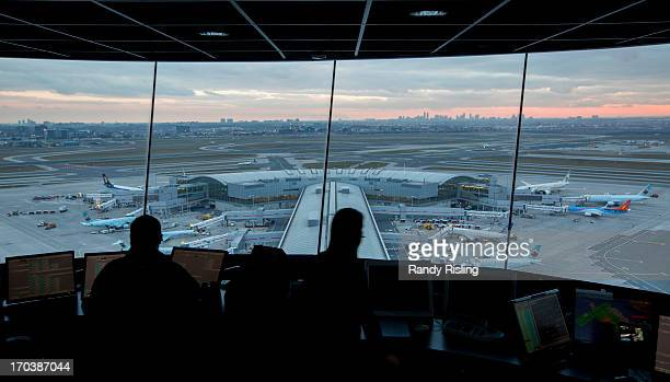 Toronto Pearson is one of two airports in Canada that have a dedicated Traffic Management Unit The unit in this tower is responsible for...