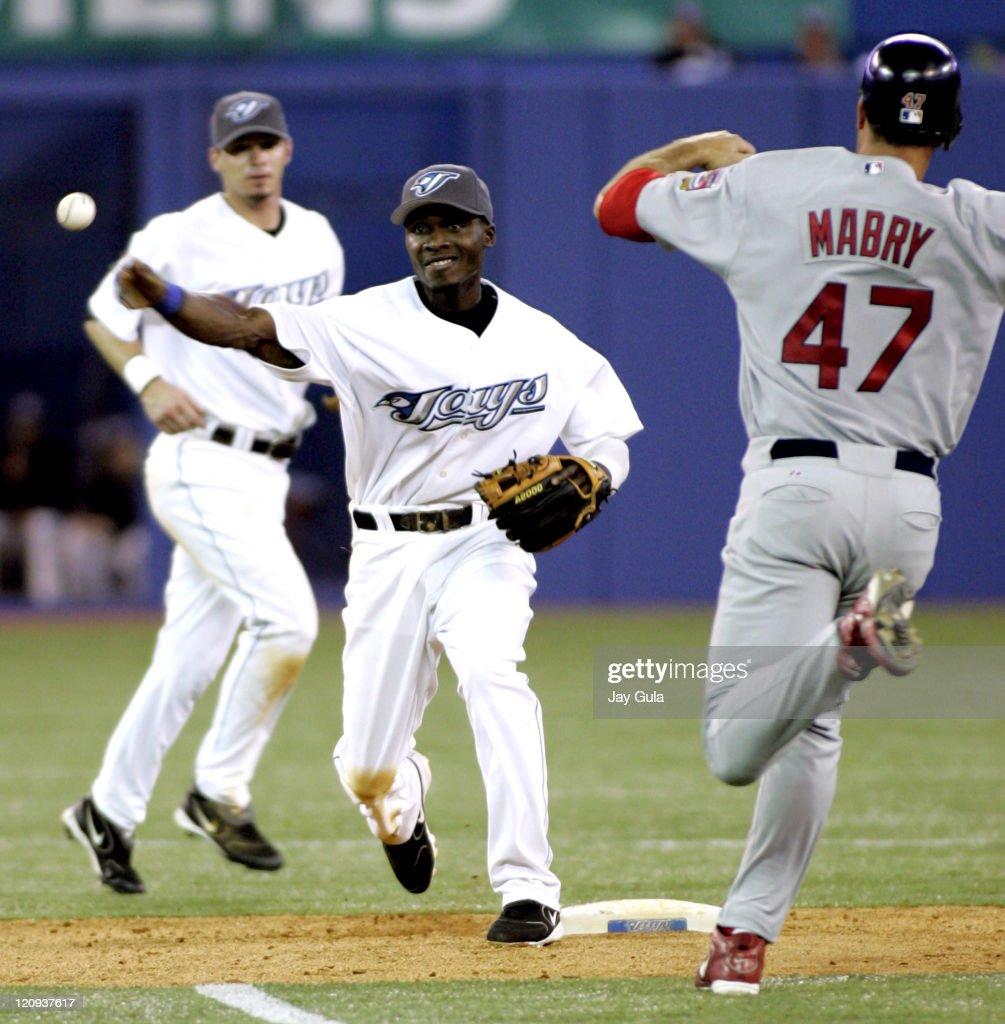 St. Louis Cardinals vs Toronto Blue Jays - June 15, 2005