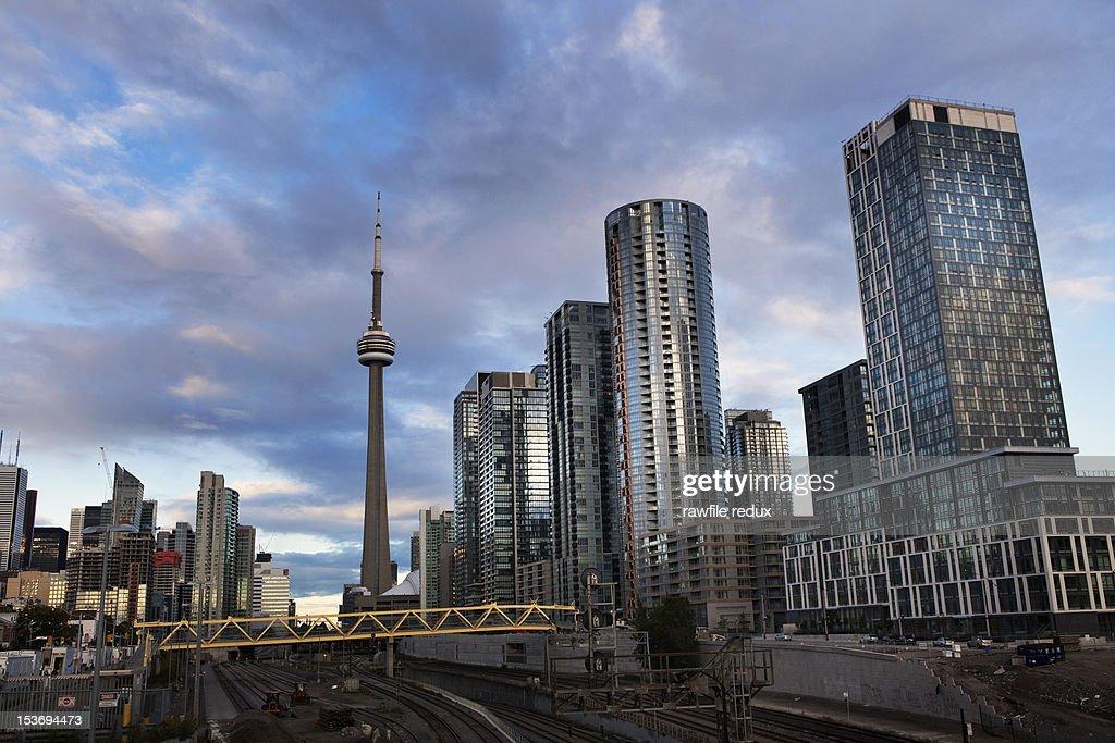 Toronto skyline. : Stock Photo