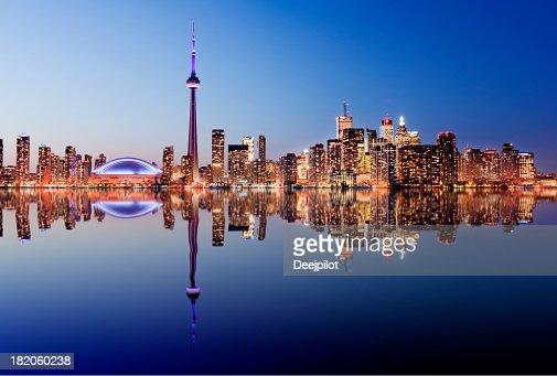 Panorama de Toronto au Canada