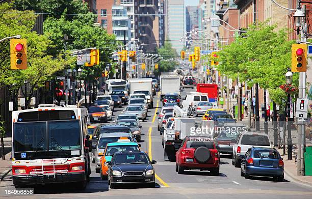 Toronto Urban Summer Traffic