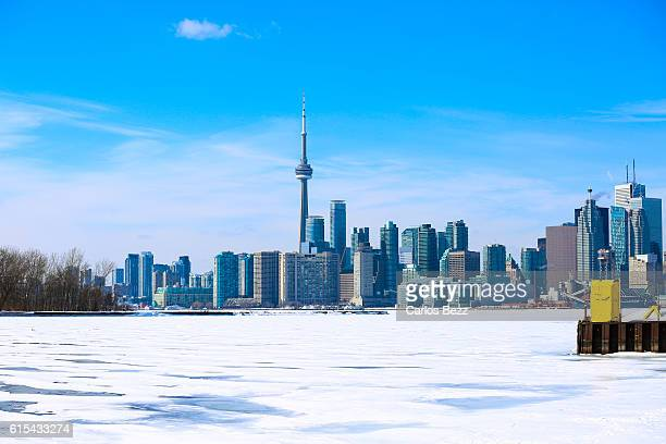 toronto view frozen