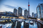 CN Tower and Toronto waterfront