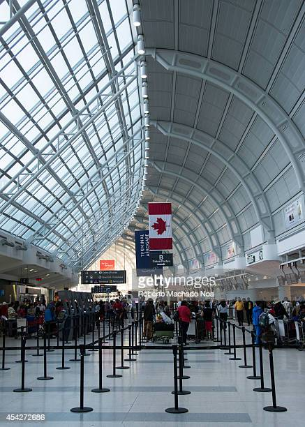 AIRPORT SCARBOROUGH ONTARIO CANADA Toronto's Pearson International Airport is one of largest and busiest airport in the world About 1100 planes take...