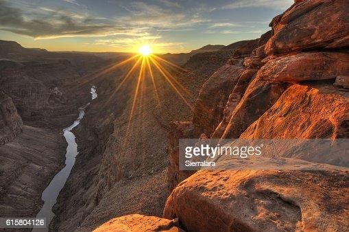 Toroweap (Sunset) : Stock Photo