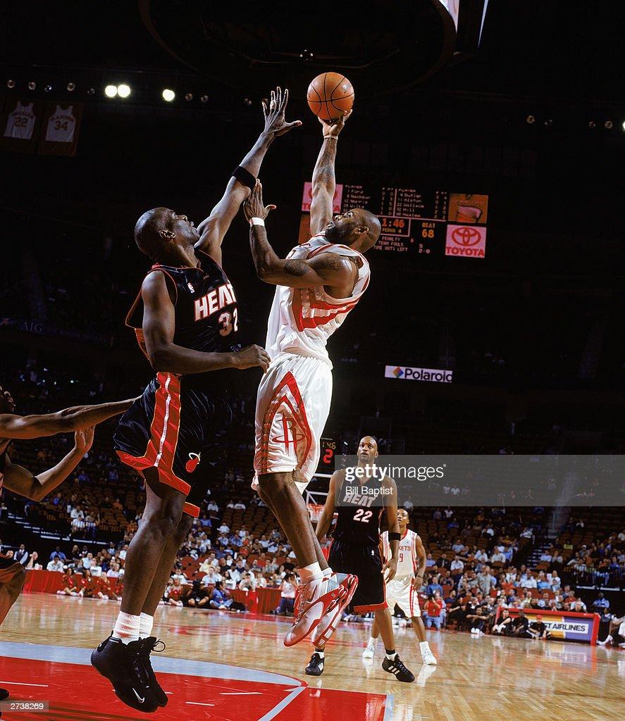 Miami Heat v Houston Rockets s and
