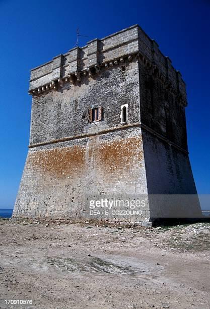 Torre Chianca tower near Porto Cesareo Lecce Puglia Italy
