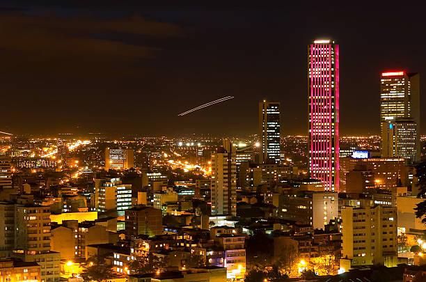 コロンビアの夜景