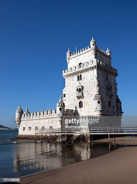 Torre de Belém in Lisbon Portugal