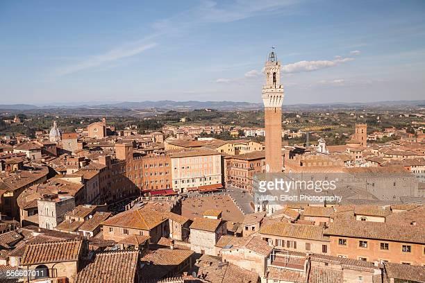 Torre del Mangia and Piazza del Campo in Siena