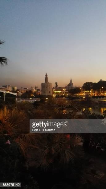 Torre del Oro at sunrise