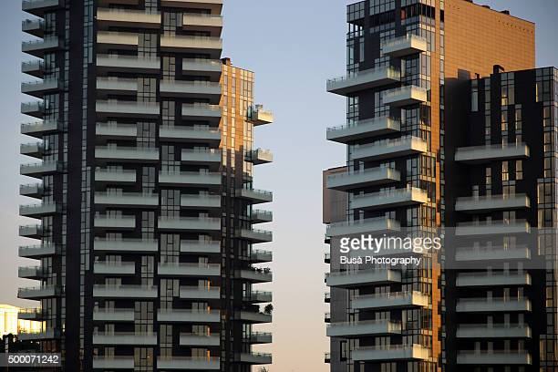 Torre Solaria, the highest residential building in Italy, in the area of Porta Nuova, Milan