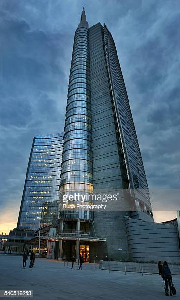Torre Unicredit in Piazza Gae Aulenti, Milano