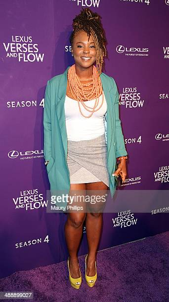 Torrei Hart arrives at 'Verses And Flow' Season 4 taping presented by TV One at Siren Studios on May 8 2014 in Hollywood California