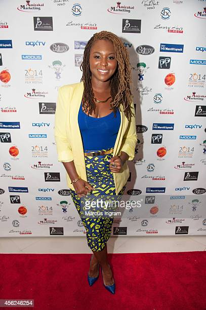 Torrei Hart attends day 3 of the 9th Annual Peachtree Village International film festival on September 27 2014 in Atlanta GA