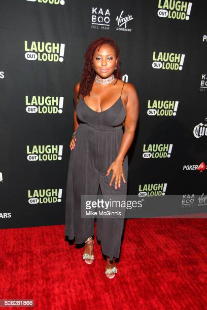 Torrei Hart attends Launch Of Laugh Out Loud hosted by Kevin Hart And Jon Feltheimer on August 03 2017 in Los Angeles California