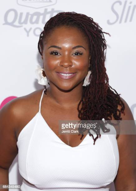 Torrei Hart attends OK Magazine's Summer KickOff Party at W Hollywood on May 17 2017 in Hollywood California