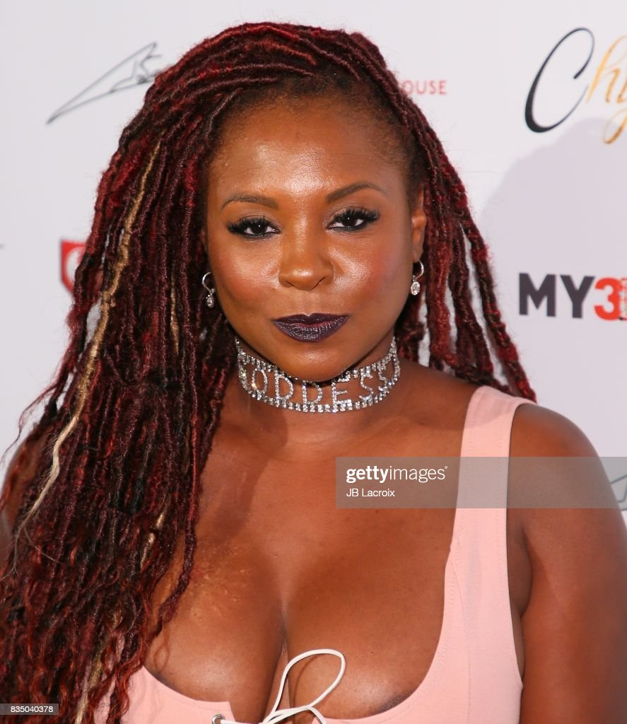 Torrei Hart attends the launch of her 'Blac Chyna Figurine Dolls' on August 17, 2017 in Los Angeles, California.