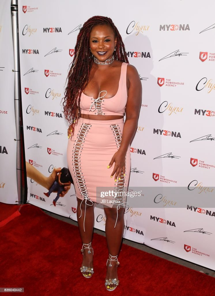 Blac Chyna Figurine Dolls Launch - Arrivals