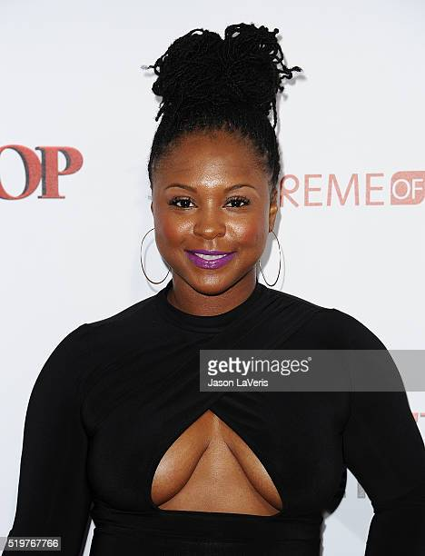 Torrei Hart attends the premiere of 'Barbershop The Next Cut' at TCL Chinese Theatre on April 6 2016 in Hollywood California