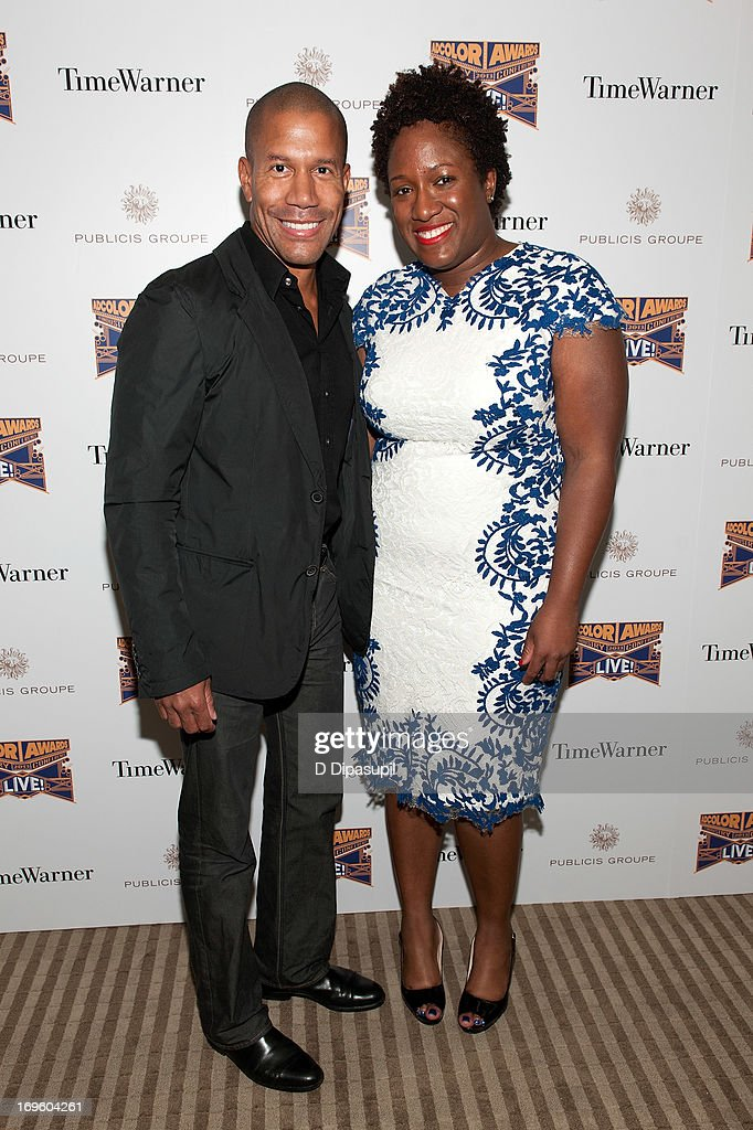 Torrence Boone (L) and Tiffany R. Warren attend Adcolor Live 2013! at Time Warner Theater on May 28, 2013 in New York City.