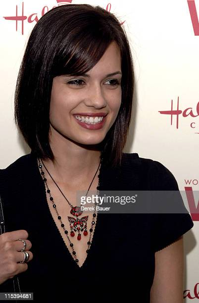 Torrey DeVitto during Women in Film and Hallmark Channel Honor Dr Maya Angelou at Academy of Motion Picture Arts and Sciences in Hollywood California...