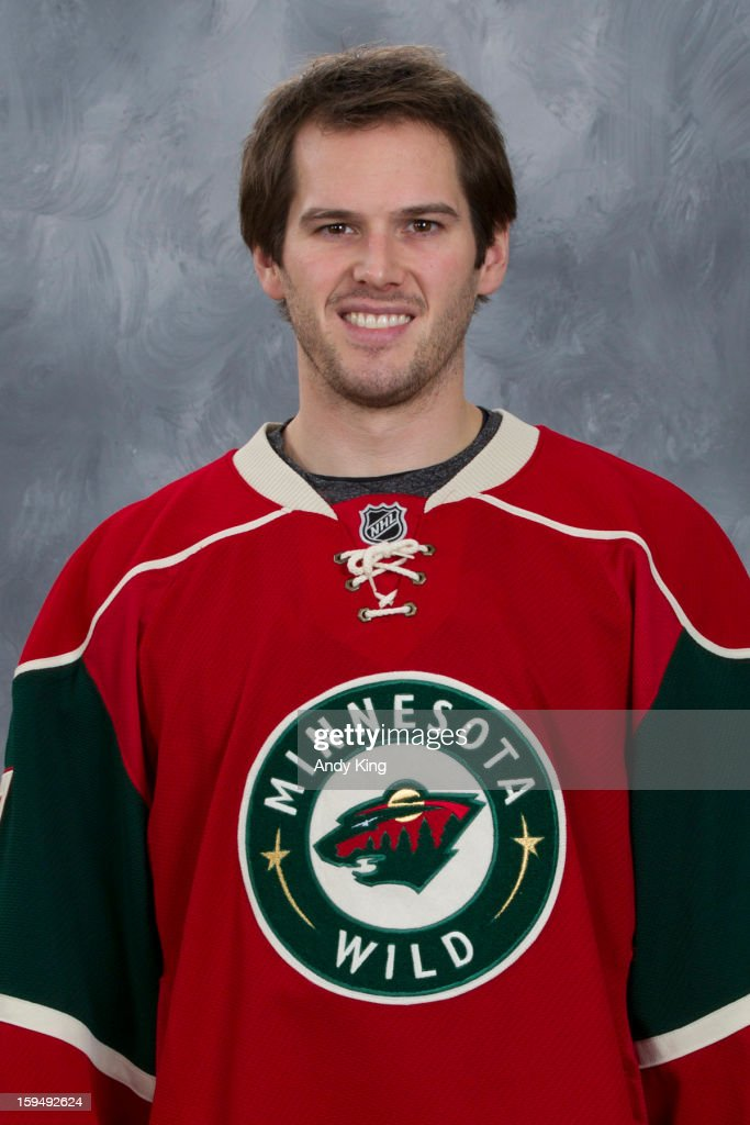 <a gi-track='captionPersonalityLinkClicked' href=/galleries/search?phrase=Torrey+Mitchell&family=editorial&specificpeople=4504539 ng-click='$event.stopPropagation()'>Torrey Mitchell</a> #17 of the Minnesota Wild poses for his official headshot for the 2012-2013 season at the Xcel Energy Center on January 12, 2013 in Saint Paul, Minnesota.