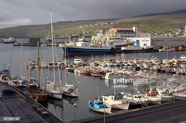 Torshavn Harbour, Faroe Islands