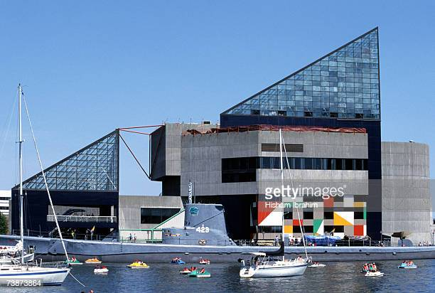 Torsk and National Aquarium at the Inner Harbor,  Baltimore, Maryland, USA