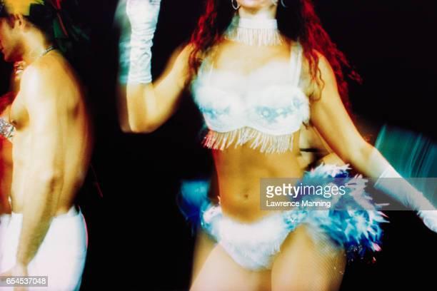 Torso of Brazilian Showgirl