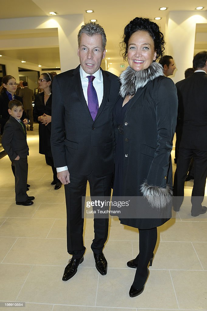 Torsten Mueller-Oetvoes and wife Eva attends the Rolls-Royce Motorcars Berlin Opening on November 24, 2012 in Berlin, Germany.