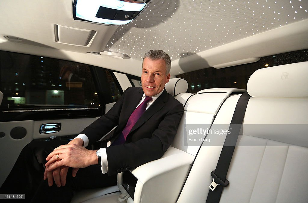 Rolls-Royce Motor Cars Ltd. CEO Torsten Mueller-Oetvoes Speaks On Sales Growth