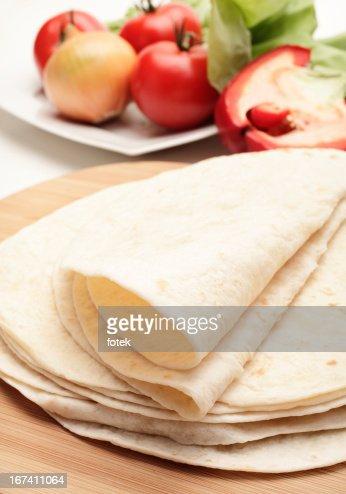 Tortillas : Stockfoto