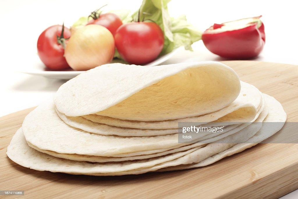 Tortillas : Stock Photo