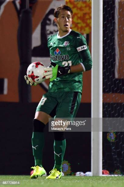 Toru Takagiwa of Shimizu SPulse in action during the JLeague Levain Cup Group A match between Omiya Ardija and Shimizu SPulse at NACK 5 Stadium Omiya...