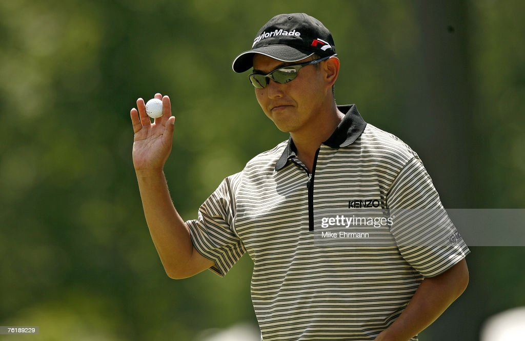 Toru Taniguchi during the first round of the 2006 US Open Golf Championship at Winged Foot Golf Club in Mamaroneck New York on June 15 2006