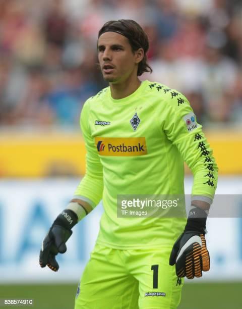 Torwart Yann Sommer of Moenchengladbach looks on during the Bundesliga match between Borussia Moenchengladbach and 1 FC Koeln at BorussiaPark on...