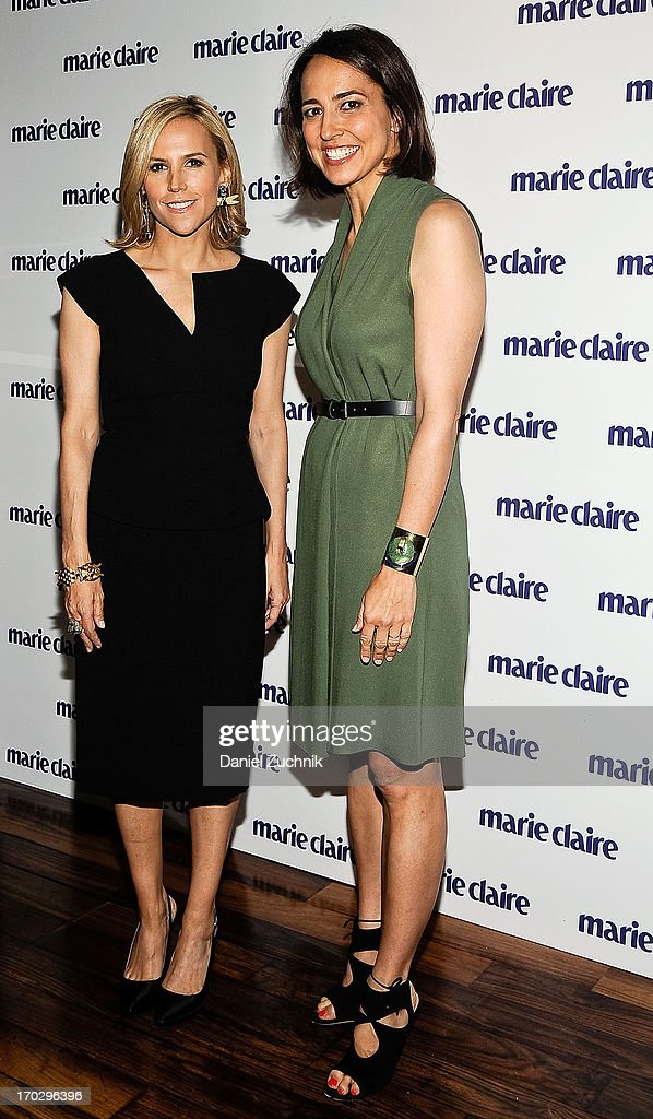 Tory Burch and Anne Fulenwider attend the Women Taking The Lead Celebration at Marea on June 10, 2013 in New York City.