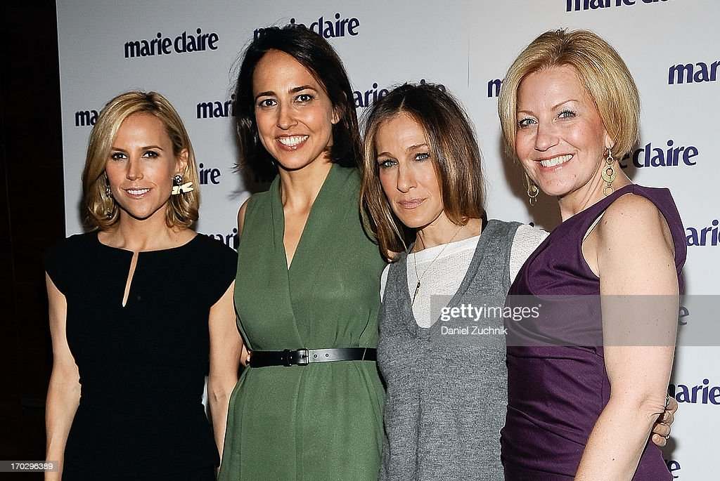 Tory Burch, Anne Fulenwider, Sarah Jessica Parker and Nancy Berger Cardone attend the Women Taking The Lead Celebration at Marea on June 10, 2013 in New York City.