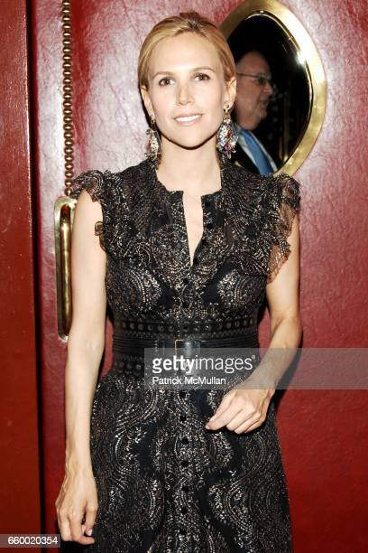 Tory Burch attends Lighthouse International POSH Preview Benefit Dinner at Doubles Club on May 12 2009 in New York City