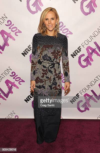 Tory Burch attends NRF Foundation Gala 2016 at Pier 60 on January 17 2016 in New York City