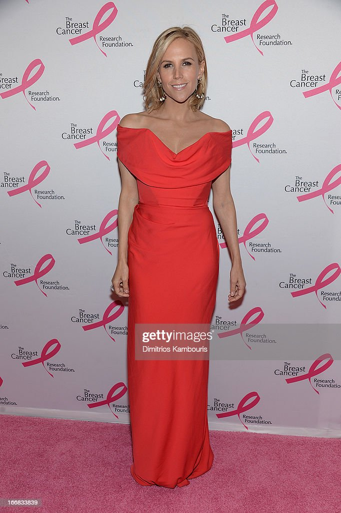 Tory Burch attends The Breast Cancer Research Foundation's 2013 Hot Pink Party at The Waldorf=Astoria on April 17, 2013 in New York City.