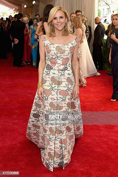 Tory Burch attends the 'China Through The Looking Glass' Costume Institute Benefit Gala at the Metropolitan Museum of Art on May 4 2015 in New York...