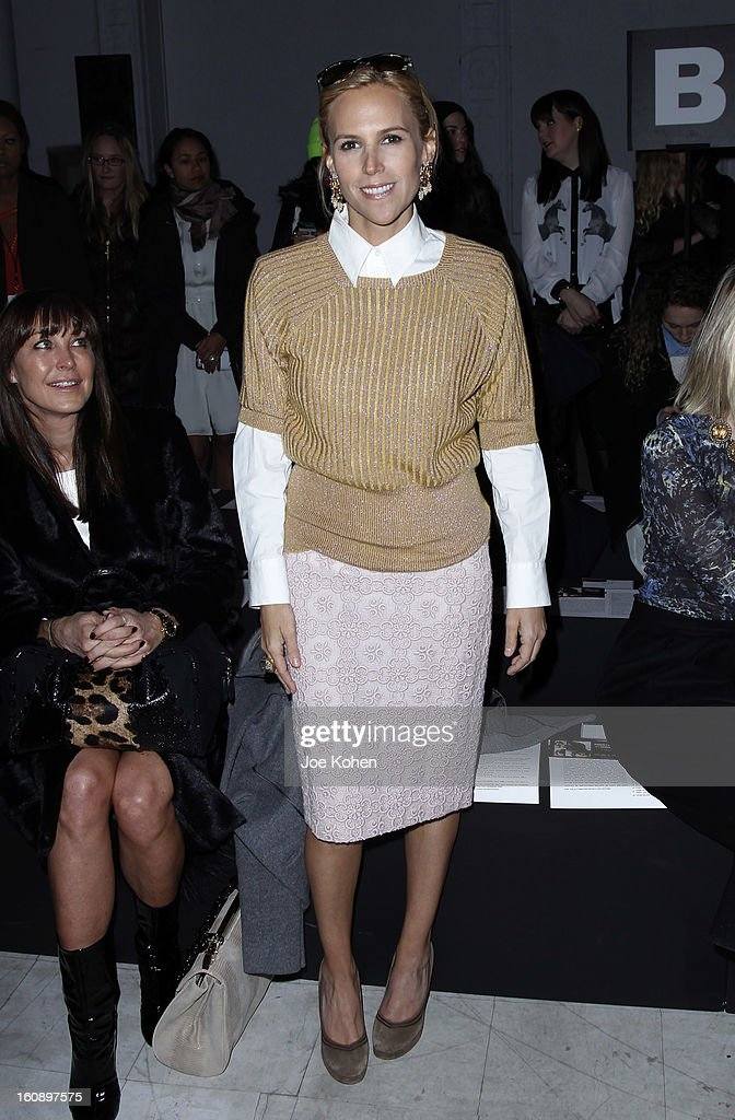 Tory Burch attends the Kimberly Ovitz show during Fall 2013 Mercedes-Benz Fashion Week at Cafe Rouge on February 7, 2013 in New York City.