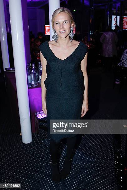 Tory Burch attends the Sidaction Gala Dinner 2015 at Pavillon d'Armenonville on January 29 2015 in Paris France